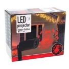 LED projector kerstman rood 2