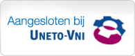 Aangesloten bij Uneto-VNI